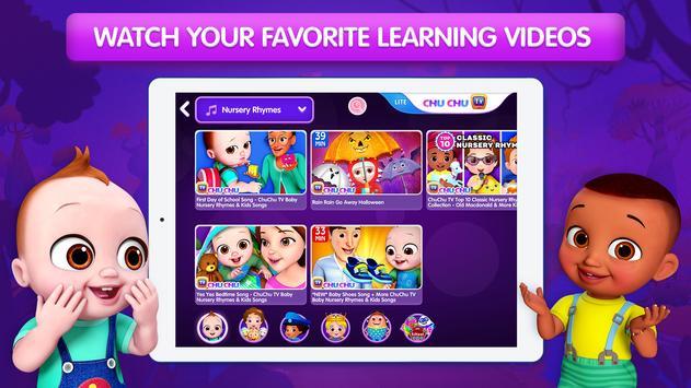 ChuChu TV LITE Best Nursery Rhymes Videos For Kids screenshot 4