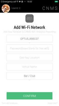 CNMS WiFi Analytics Reporting screenshot 2
