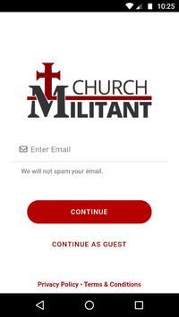 Poster Church Militant