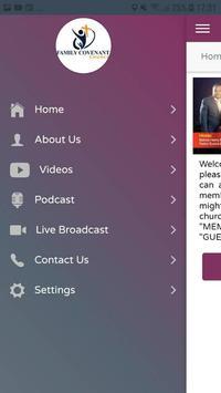 FCC Conference Registration App screenshot 2