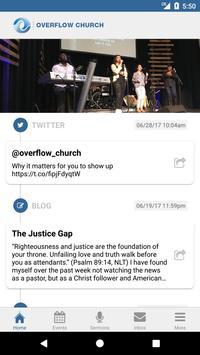Overflow Church screenshot 1