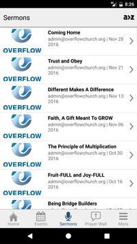 Overflow Church screenshot 3