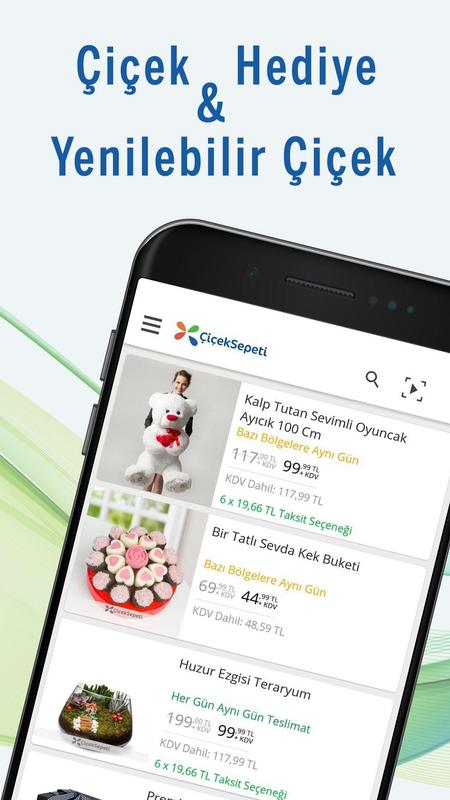 çiçek Sepeti Hediye çiçek Siparişi Für Android Apk Herunterladen