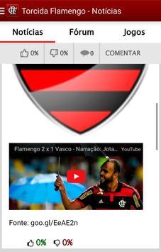 Torcida Flamengo - Notícias screenshot 2