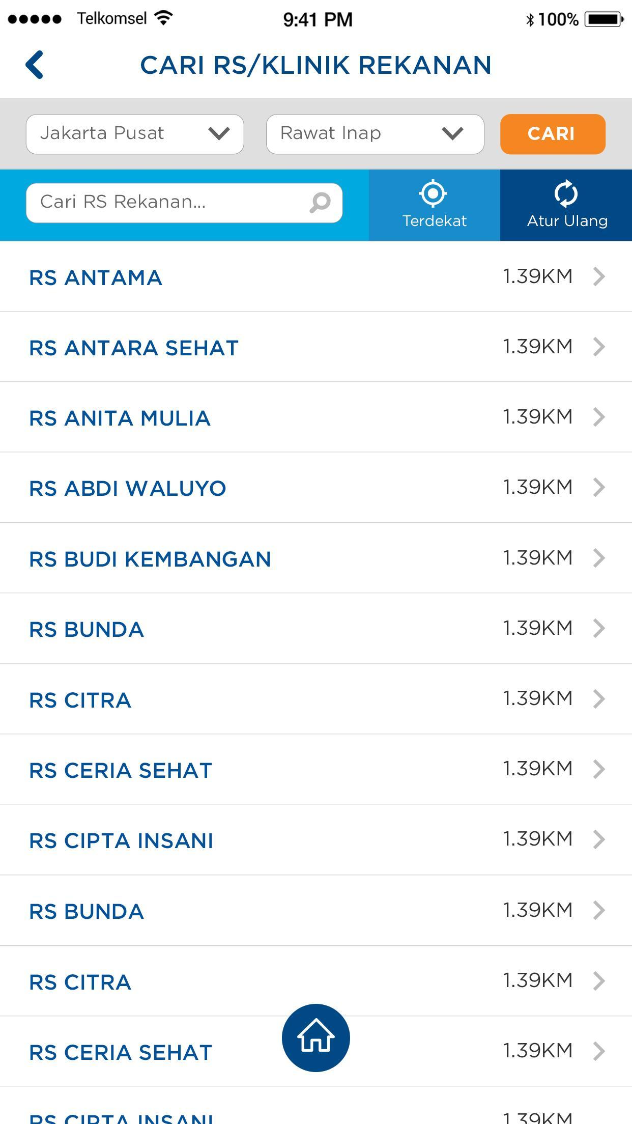 Terkini Daftar Rumah Sakit Rekanan Sompo Insurance