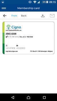 Cigna Health Benefits captura de pantalla 4