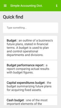 Simple Accounting Dictionary screenshot 3