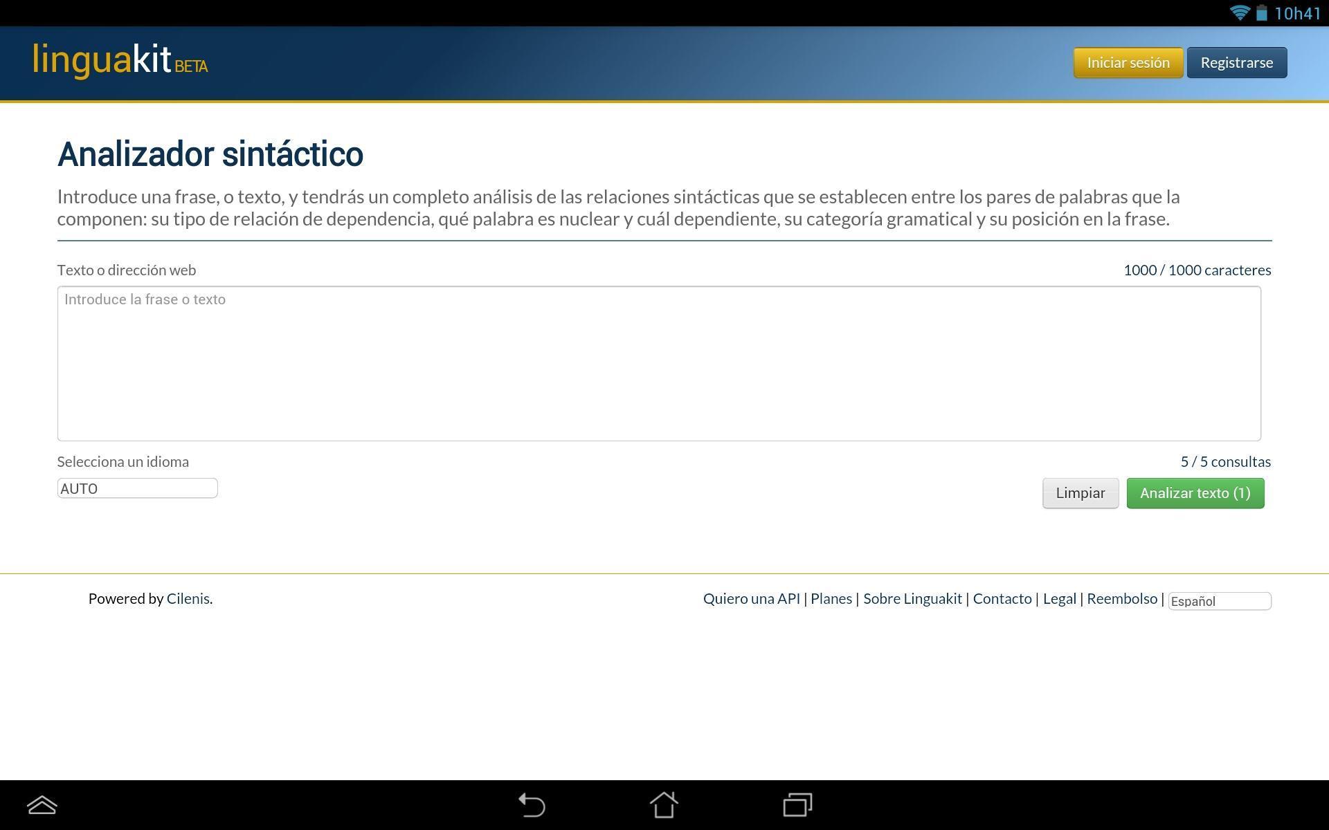 Analizador Sintáctico For Android Apk Download