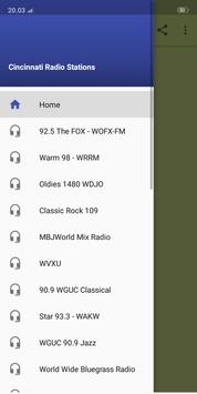 Cincinnati Best Radio Stations poster