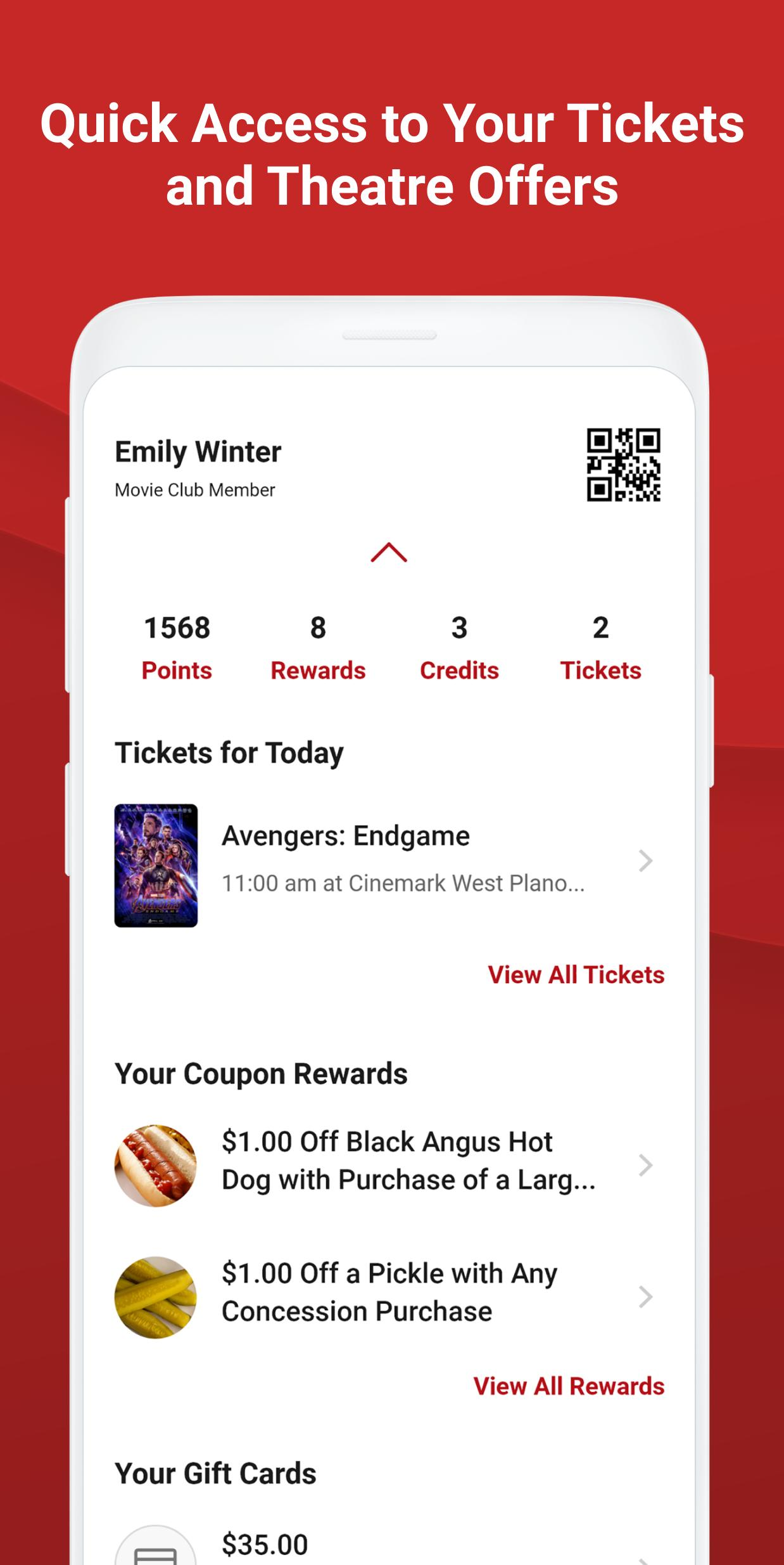 Cinemark Theatres for Android - APK Download