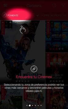Cinemex screenshot 1