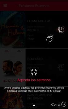 Cinemex screenshot 4