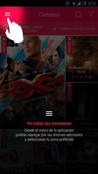 Cinemex Screenshot 6