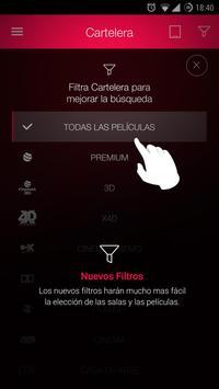 Cinemex Screenshot 7