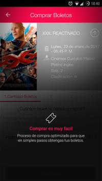 Cinemex screenshot 9