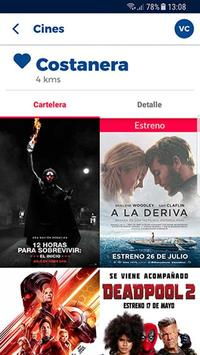 Cineplanet Chile screenshot 2