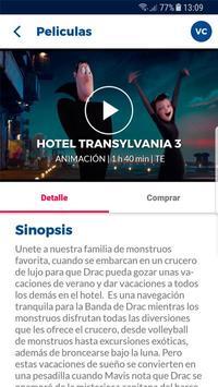 Cineplanet Chile screenshot 3