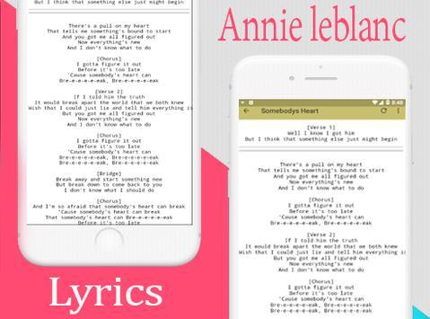 Annie LeBlanc Full Song and lyrics screenshot 7