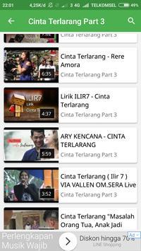 Video Musik Cinta Terlarang capture d'écran 4