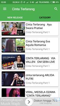 Video Musik Cinta Terlarang capture d'écran 1