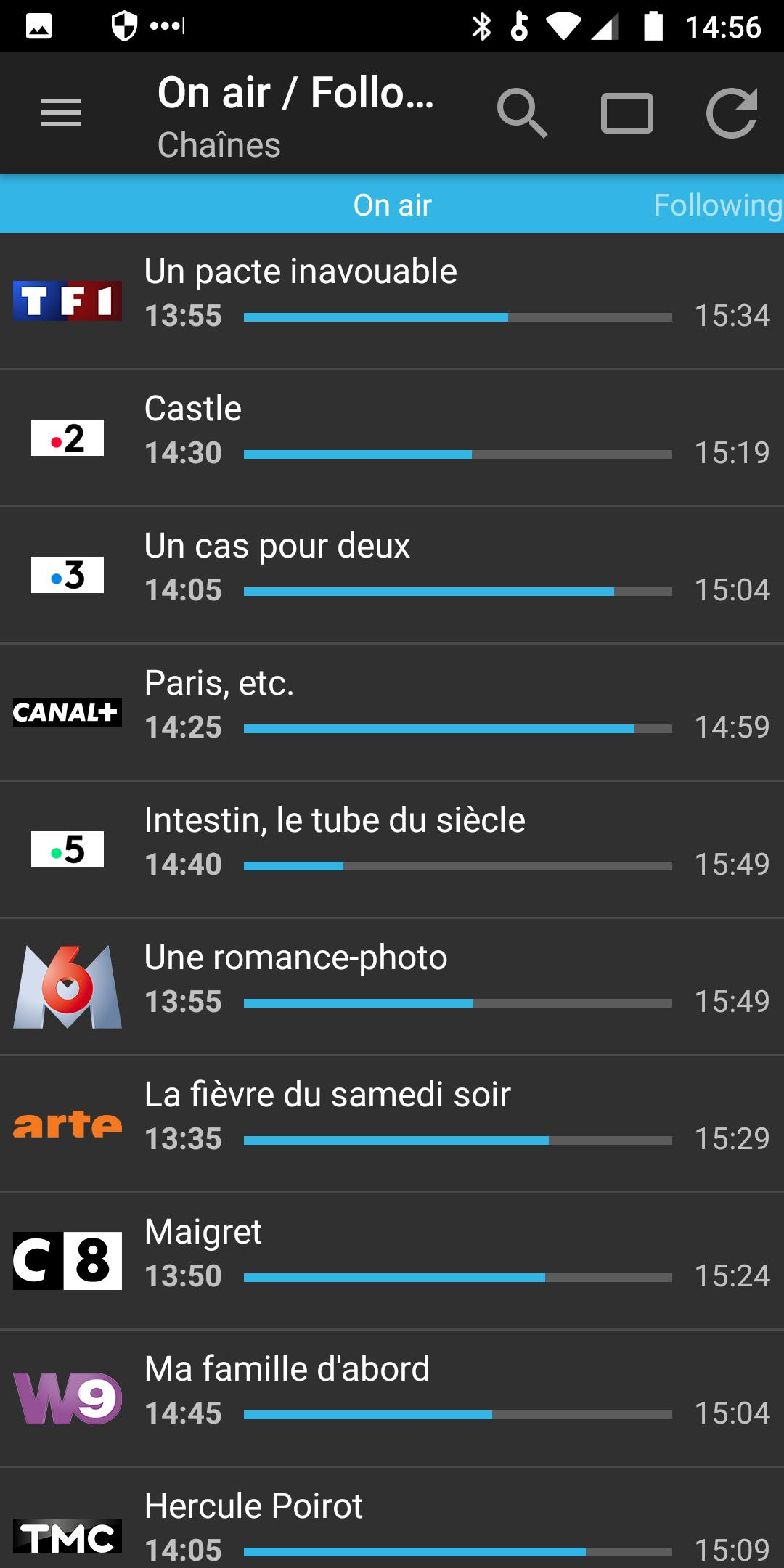 Tv Listings France Cisana Tv For Android Apk Download