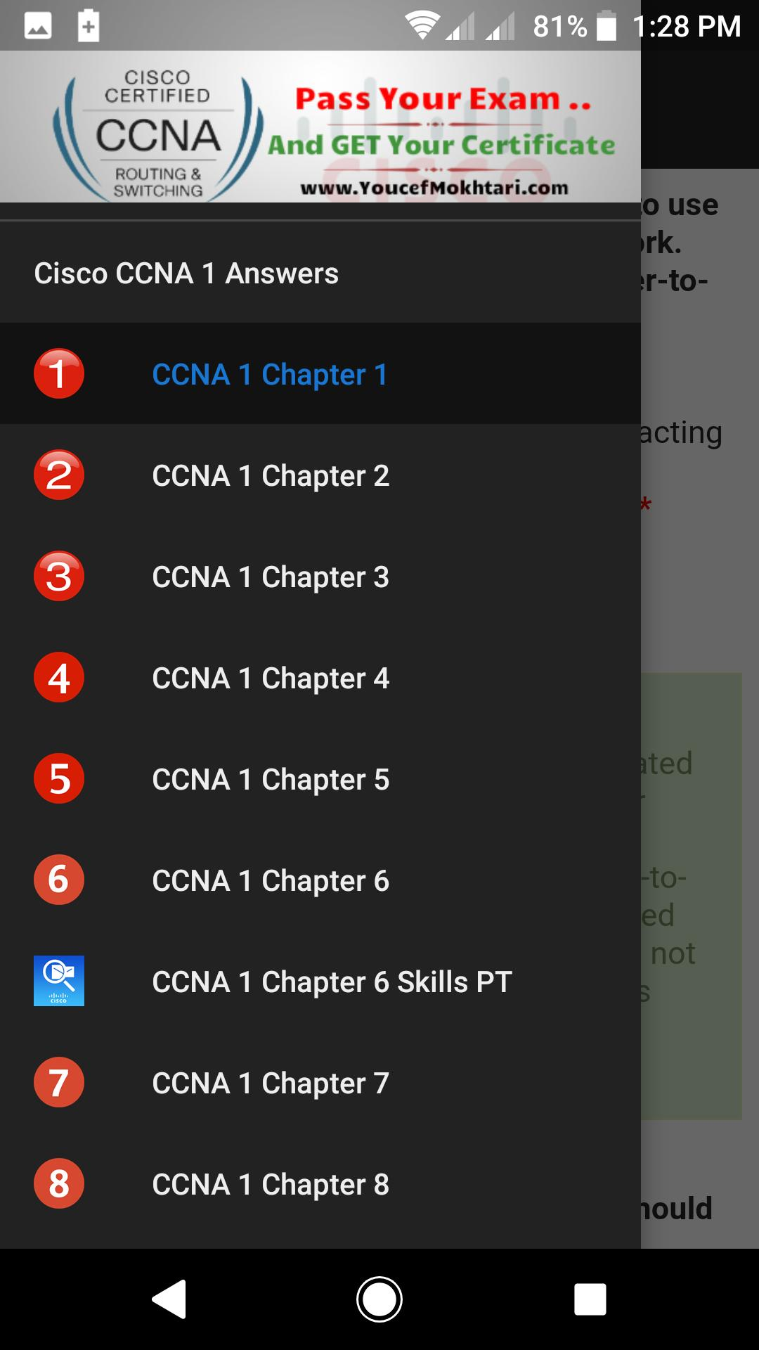Topic Discussion Question Chapter 11 CCNA 1 EXAM