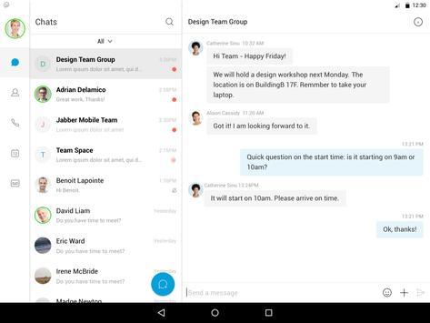 Cisco Jabber screenshot 14