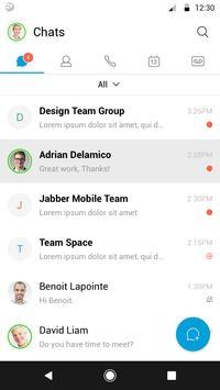 Cisco Jabber screenshot 1