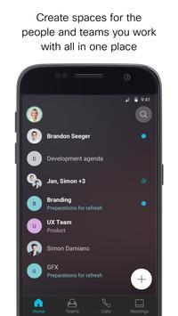 Cisco Webex Teams screenshot 1