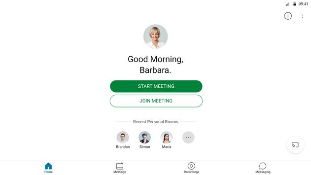 Cisco Webex Meetings8