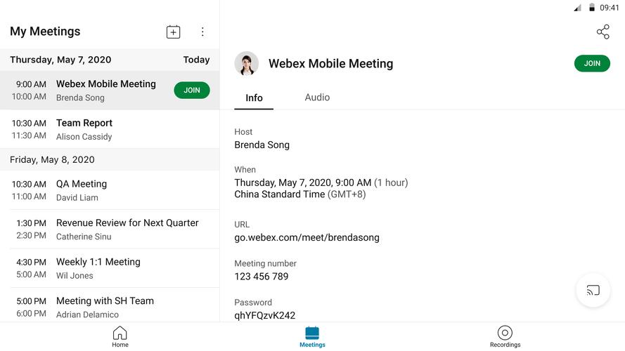 Webex meetings ダウンロード cisco