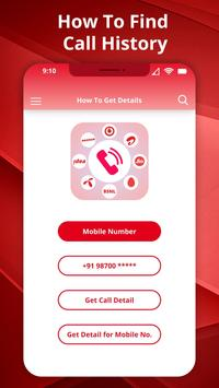 How to Get Call detail any number:Call History screenshot 3