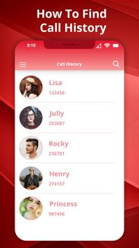 How to Get Call detail any number:Call History screenshot 4