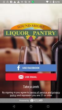 Sound Shore Liquor Pantry poster