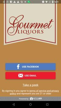 Gourmet Liquors poster