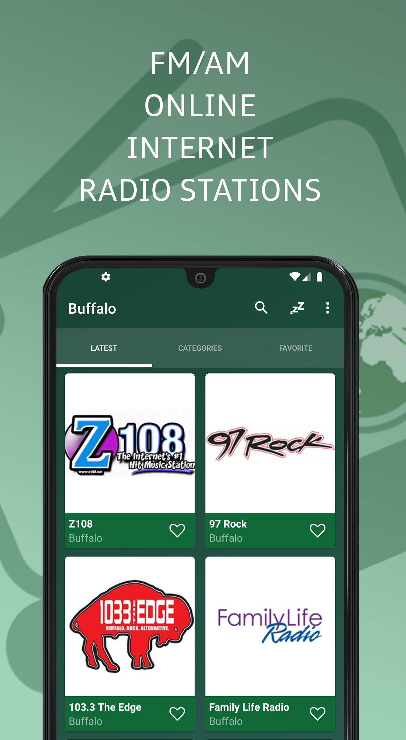 Buffalo 📻 AM FM Online Radio Stations - USA for Android