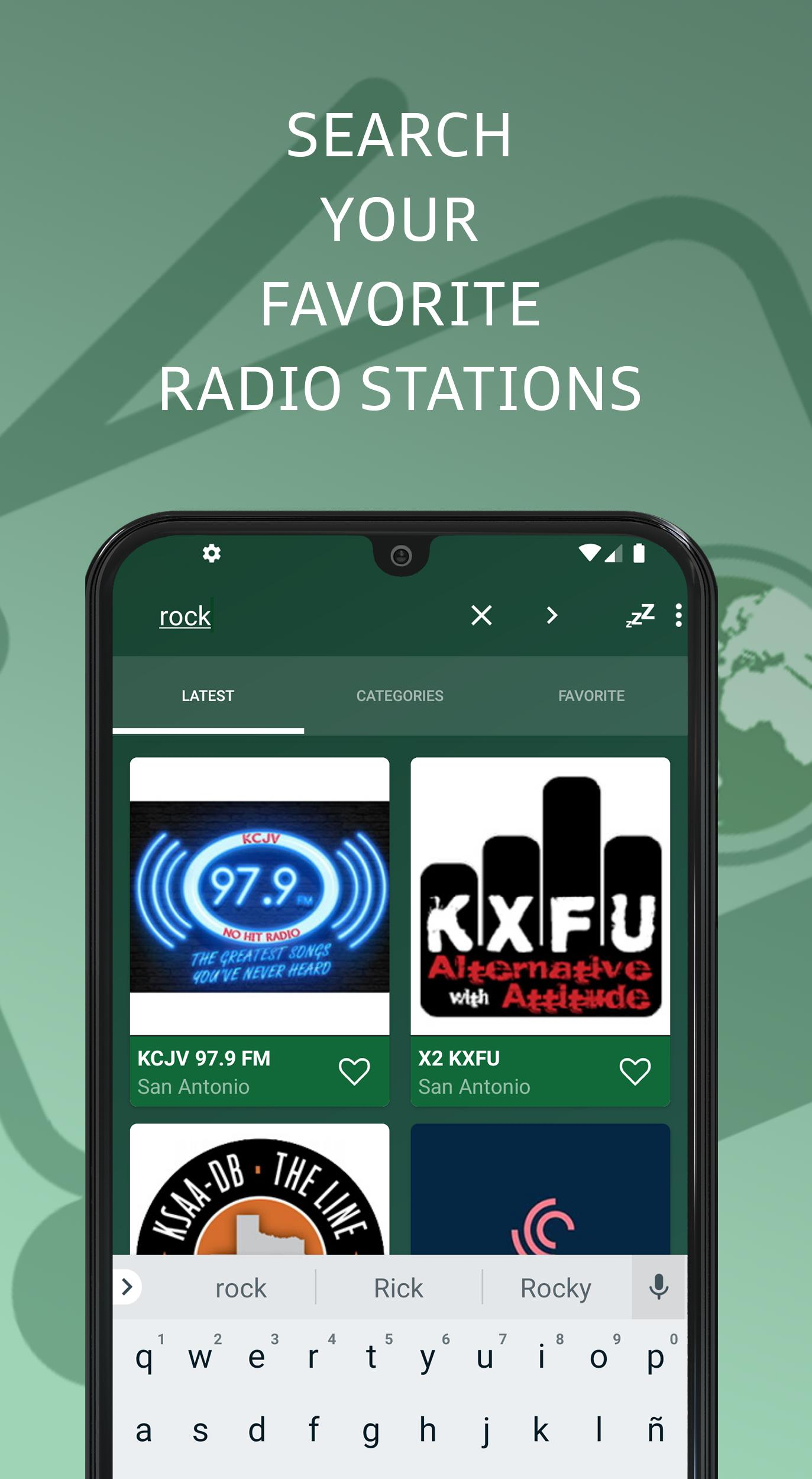 San Antonio 📻 AM FM Online Radio Stations - USA for Android