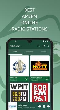 Pittsburgh 📻 AM FM Online Radio Stations - USA screenshot 7