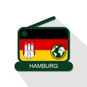Hamburg 📻 AM FM Online Radiosenders - 🇩🇪 icon