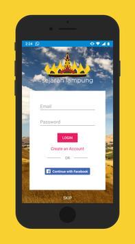 Peta Sejarah Lampung screenshot 1