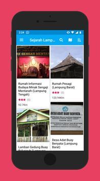 Peta Sejarah Lampung screenshot 3