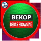 VPN Bekop Bebas Browsing icon
