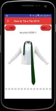 How to Tie a Tie 2019 screenshot 2