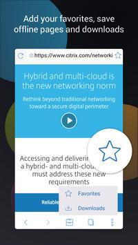 Citrix Secure Web スクリーンショット 1