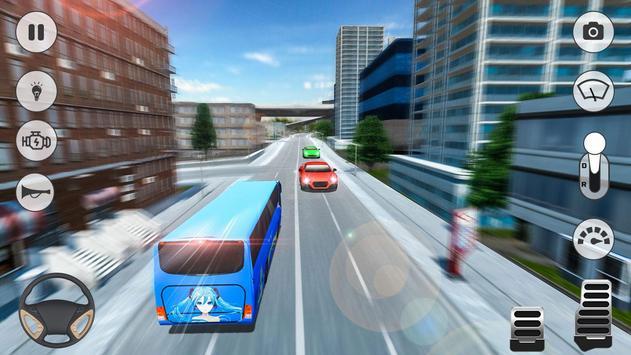 City Coach Bus Simulator 2019 海報