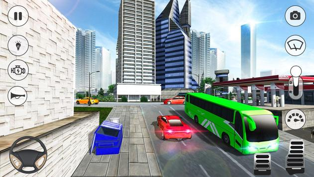 Bus Games - Coach Bus Simulator 2020, Free Games скриншот 1