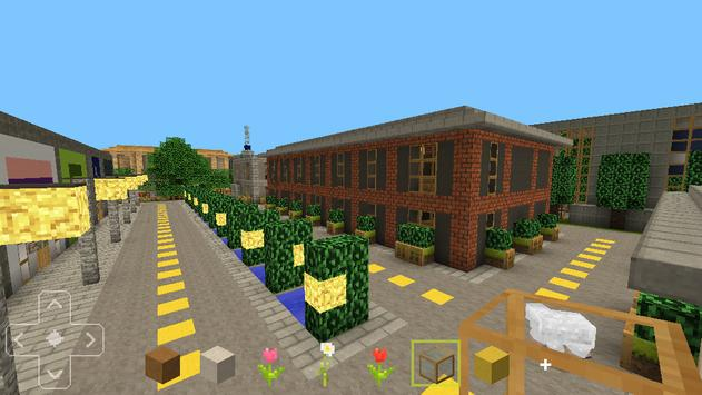 MiniCraft City Build Crafting Games screenshot 2