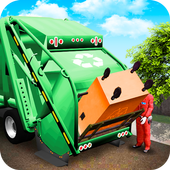 Garbage Truck - City Trash Service Simulator 图标