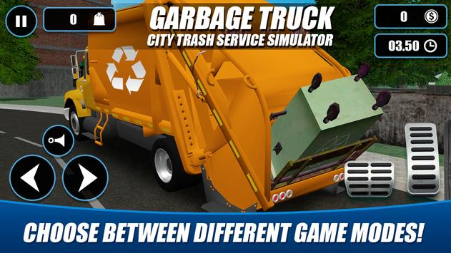 Garbage Truck - City Trash Service Simulator 截图 2