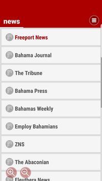 Bahamas News in real time screenshot 1